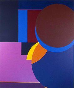 Renee Harwin Untitled 1979 – acrylic on canvas – 50″x59″