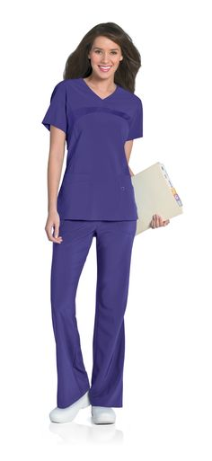 Ladies crystal blue one button healthcare tunic for Spa uniform suppliers south africa