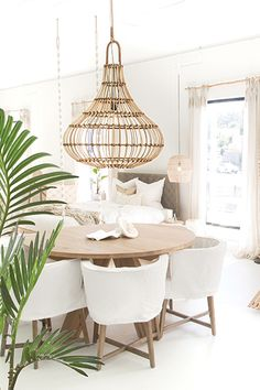 A pic from our Showroom featuring the lovely St Croix Dining Table ? Guatemala Dining Chairs and Yaana Pendant Light ? The perfect piece to make a statement. Dining Chair Cushions, Dining Chairs, Ikea Chairs, Chair Upholstery, Lounge Chairs, Office Chairs, Upholstered Chairs, Dining Room Furniture, Living Room Chairs