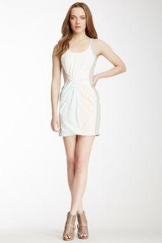 Rebecca Minkoff Joshua Silk Colorblock Dress by Non Specific on @HauteLook