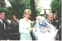 Princess Diana in Chicago 1996