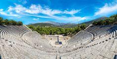 VISIT GREECE| Ancient theatre of Epidaurus #Greece #VisitGreece