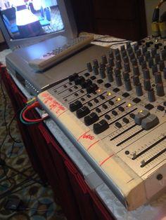 Parte de los Equipos de Sonido y Video para fílmación de cursos de Coach & Feedback.