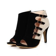 Buy Women Sexy Suede Sandals, Cutout High Heel Sandals at  LeStyleParfait.Com for only $53.00 USD