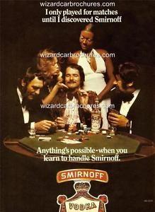 Drunken Gamblers Get All The Chicks! Vintage Advertisements, Vintage Ads, Poster Ads, Smirnoff, Vodka, Advertising, Learning, A3, Australia