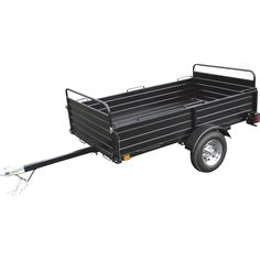 4-In-1 Utility Dump Trailer — 7 1/3 ft. L x 4 1/3 ft. W, Model# US5806 | Trailers| Northern Tool + Equipment