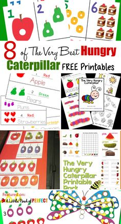 27 of The Very Best Hungry Caterpillar Activities for Kids: a helpful collection The Very Hungry Caterpillar Activities for Kids including crafts, activities, and free printables to go along with this beloved book by Eric Carle.
