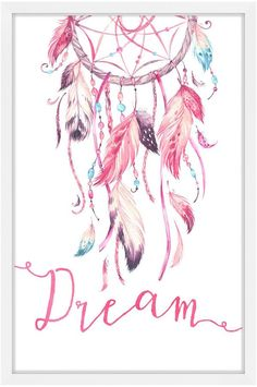Search Results Marmont Hill Pink Dreamcatcher (Framed Print)<br> Dreamcatcher Wallpaper, Watercolor Dreamcatcher, Dreamcatcher Design, Dream Catcher Drawing, Dream Catcher Painting, Dream Catchers, Paint By Number Kits, Paper Artwork, Catcher