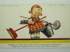 CHILDREN-ARTIST SIGNED-UNITED KINGDOM-OH9-S54397