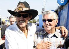 Richard Petty NASCAR Legends, Richard Petty and Bobby Allison