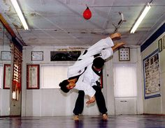 Hapkido throwing