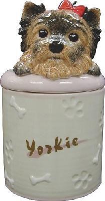 Yorkshire Terrier Collectible Yorkie Dog Puppy Cookie Jar