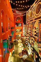 """Horton Plaza in San Diego. My favorite """"mall"""" because it's different and fun."""