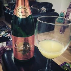 Veggie Buck's Fizz whilst watching Kirsty's #handmadechristmas - can you tell I'm enjoying our holiday?