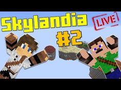 [ÉLŐ] Kezdődjön A Kincskeresés!!! Minecraft SkylanDIA UborCrafttal! #2