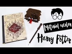 DIY: Material Escolar Harry Potter - Back to school Harry Potter, Marauders Map, Hogwarts, Back To School, Diys, Party Ideas, Scrapbook, Make It Yourself, Youtube