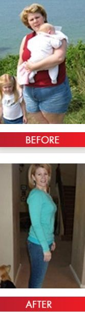 Julie Heyer lost 120 pounds on Atkins!  [Most rapid weight loss typically occurs in Phase 1. Results will vary as actual weight loss varies by individual.]