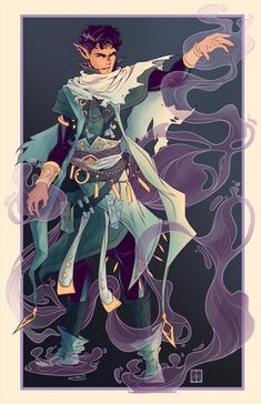 Fantasy Character Design, Character Concept, Character Inspiration, Character Art, Concept Art, Design Inspiration, Elf Characters, Dungeons And Dragons Characters, Fantasy Characters