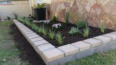 Discover Ideas About Stone Flower Beds