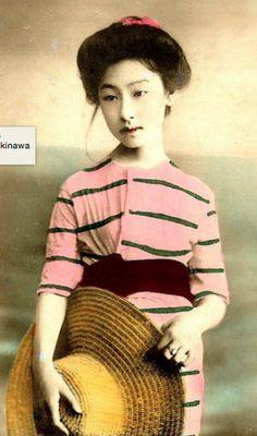 Meiji Era Bathing Beauties of Old Japan