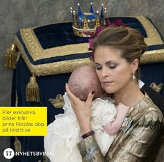 Se familjebilderna fran prins nicolas dop