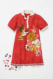 OMG. Anthropologie just started a line of kids clothes. I could have pinned everything on there. Hannah, just wait until you are big enough for these clothes. I better warn Ryan that we're due to go broke around the same time...