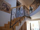 Fier Forjat » Modele Balustrade Scari Balcoane » Model 55BSB43 Producator: S.C. BIFEM S.R.L. - Odorheiu Secuiesc - Harghita Stairs, Model, Home Decor, Stairways, Stairway, Interior Design, Home Interiors, Staircases