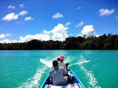 Kei island, maluku tenggara, indonesia