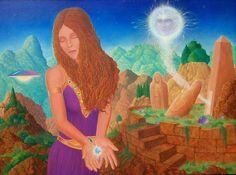 inner sight diamond center of awareness