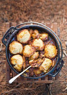Spaar tyd en weeg die bestanddele vir die kluitjies by die huis af. Braai Recipes, Oxtail Recipes, Lamb Recipes, Meat Recipes, Cooking Recipes, Recipies, Campfire Recipes, Curry Recipes, Easy Cooking