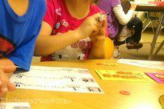 KindergartenWorks: learning teen numbers in kindergarten