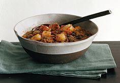 Lentil Soup with Italian Sausage and Escarole Recipe  | Epicurious.com