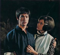 bruce lee and nora miao in fist of fury