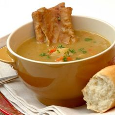 This substantial traditional high protein soup is delicious with smoked meat flavours, balanced by lots of vegetables. It is very economical and improves with standing. Also freezes very well Curry Recipes, Soup Recipes, Cooking Recipes, Pea Soup, Smoking Meat, Allrecipes, Frozen, Meals, Vegetables