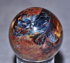 Pietersite  Natural Crystal Sphere-Namibia