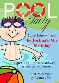 Pool Party Invites Free Printable Kids Party Invites From Wwwbest - Swimming party invitation template free