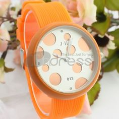 Beautiful orange watch