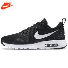 new york 3b304 17298 Oryginalne autentyczne NIKE AIR MAX TAVAS Męskie buty do biegania Adidasy  Homens Wygodne Szybkie Oddychające Mężczyźni