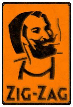 Dank Zig Zag Man Rolling Papers Spray Art Black/White Metal Sign x Acid Art, Kiwiana, Feather Art, Surf Art, Chalk Art, Spray Painting, Sprays, Photo Illustration, Metal Signs