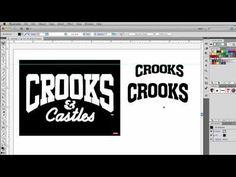 How to Warp Text using an arc in Adobe Illustrator