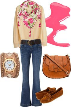 TOUCH OF PINK, created by majuliett-a on Polyvore