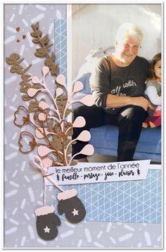 """Couleuretscrap : Tampons et matrices de coupe (dies) #4enSCRAP """"Petits plaisirs de Noël"""""""