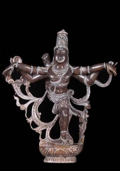 Kali, the patron goddess of Thillai Forest challenged Shiva to a dance contest. The dance contest went on for hours with every one of Shiva's dance postures being matched by Kali.Eventually Shiva performed a posture with his left leg lifted over his head. Kali, being a respectable woman, was unable to go into this compromising position. Thus, Kali admitted defeat and left the forest!!