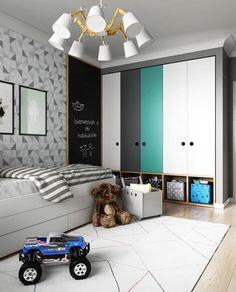 Kids Lighting Bedroom Ideas - Kamar anak - Lilly is Love Baby Bedroom, Baby Boy Rooms, Kids Bedroom, Kids Rooms, Bedroom Small, Baby Zimmer Ikea, Boys Bedroom Furniture, Kids Furniture, Wooden Bedroom