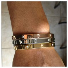 Screw Bangles | Bold  Stylish wow, a blast from the early 90s past