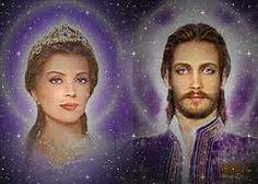 ALMAS GEMELAS: Lady Portia y Maestro Saint Germain