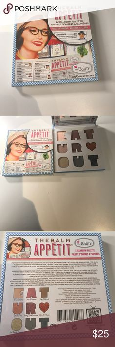 The balm appetit eyeshadow palette The balm appetit eyeshadow palette Makeup