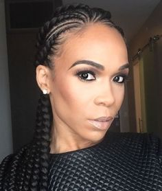 Michelle Williams' Beautiful Braids are Summer We'll definitely be rocking these! African Braids Hairstyles, Braided Hairstyles, Protective Hairstyles, Protective Styles, Summer Hairstyles, Girl Hairstyles, Black Hairstyles, Curly Hair Styles, Natural Hair Styles