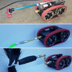 airbot one robot specialized for air duct cleaning and inspection coating kit whips kit - Duct Cleaning Jobs