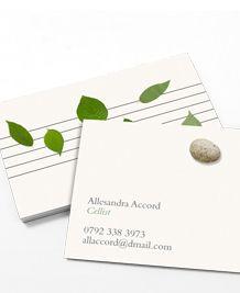 moo.com printing - green rock natural design